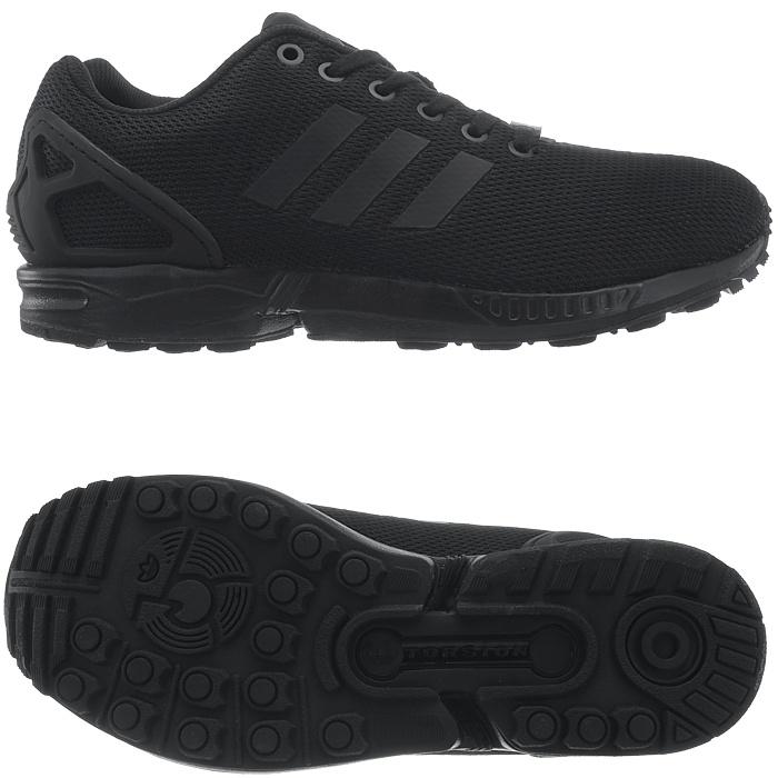 ADIDAS ZX FLUX uomo scarpe da ginnastica blu/nero/marrone Scarpe da corsa per il Tempo Libero Scarpe Nuovo