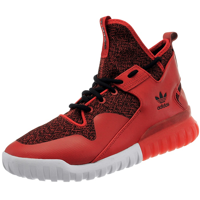 Details about Adidas Tubular X red black