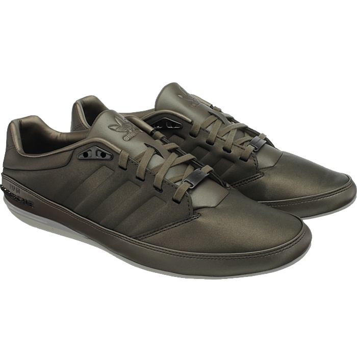 f67aa9acbe1 Adidas Porsche Typ 64 2.3 men s casual shoes brown metallic sneakers ...