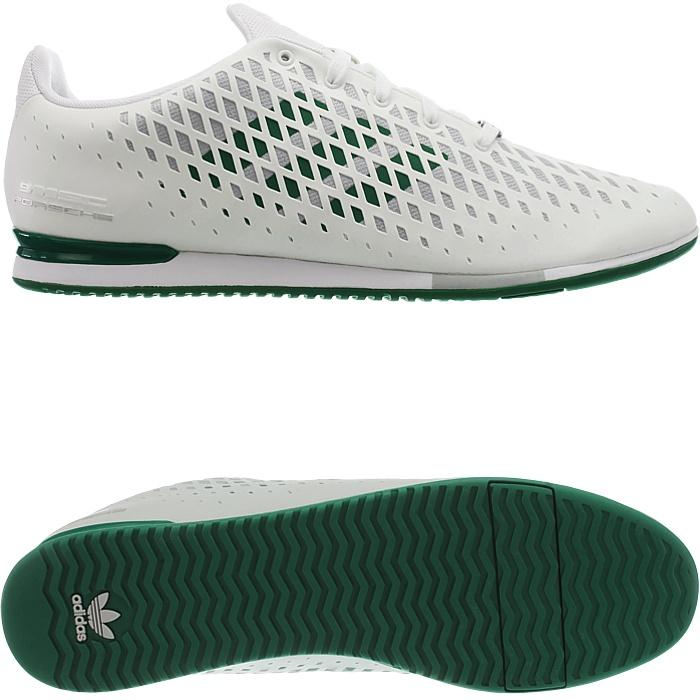 adidas porsche 911 sc cabriolet men's low-top sneakers white noble