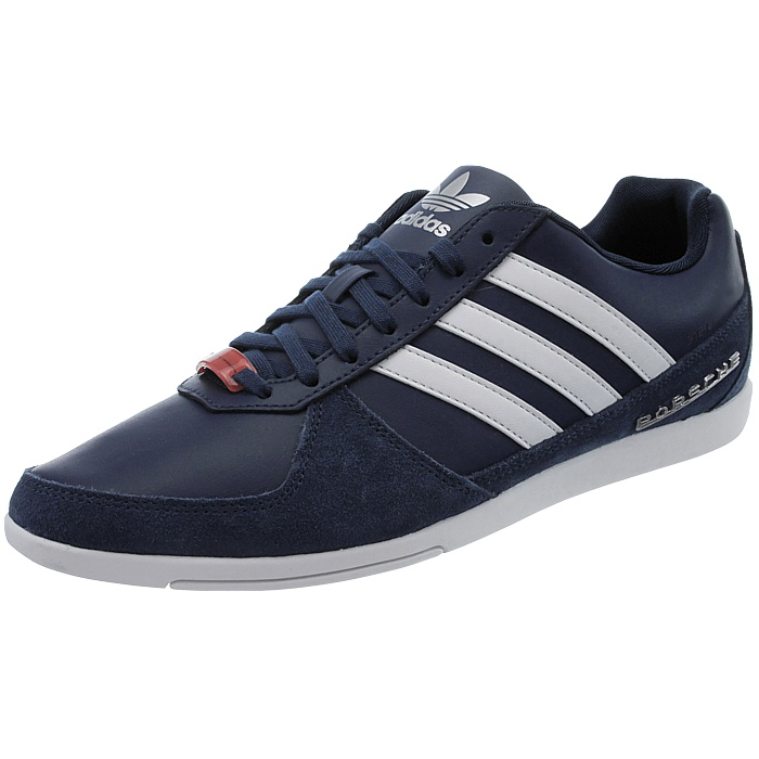 adidas porsche 360 1 0 blue white men low top leather. Black Bedroom Furniture Sets. Home Design Ideas