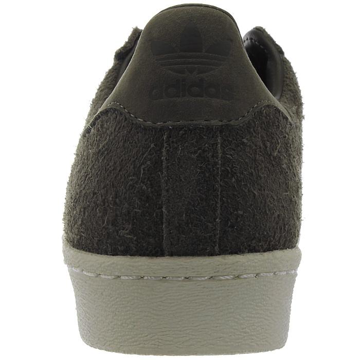 Adidas Superstar 80s Herren low top Sneakers braun Wildleder