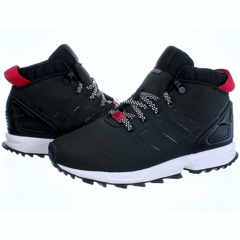 Details zu Adidas ZX Flux Winter 58 TR C Kinder Outdoor Schuhe Fleece Futter Wasserabweis.