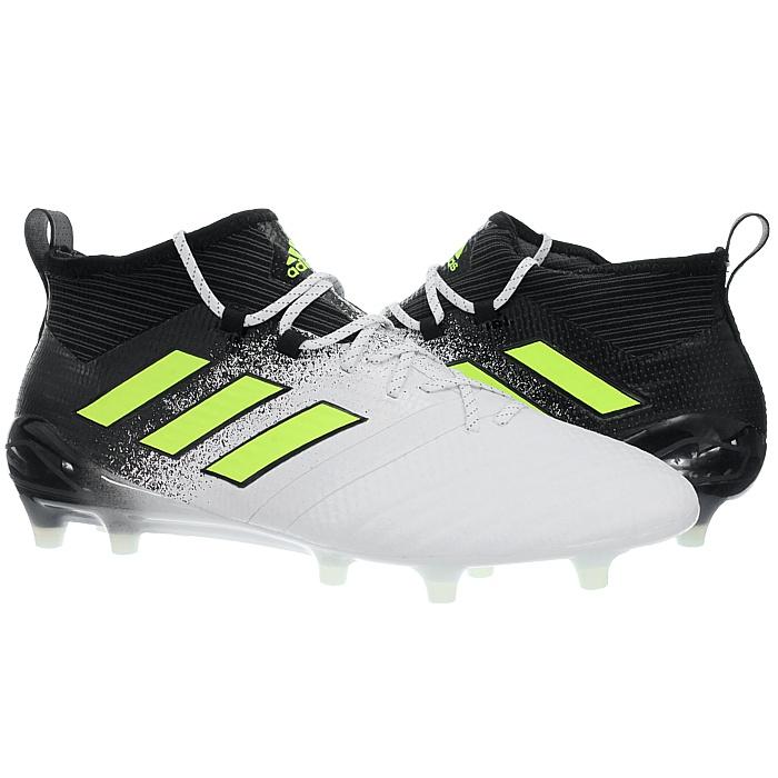 Adidas-Ace-17-1-FG-Nocken-Herren-Profi-Fusballschuhe-orange-weis-turkis-NEU miniatuur 11