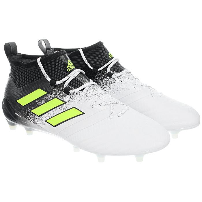 Adidas-Ace-17-1-FG-Nocken-Herren-Profi-Fusballschuhe-orange-weis-turkis-NEU miniatuur 12