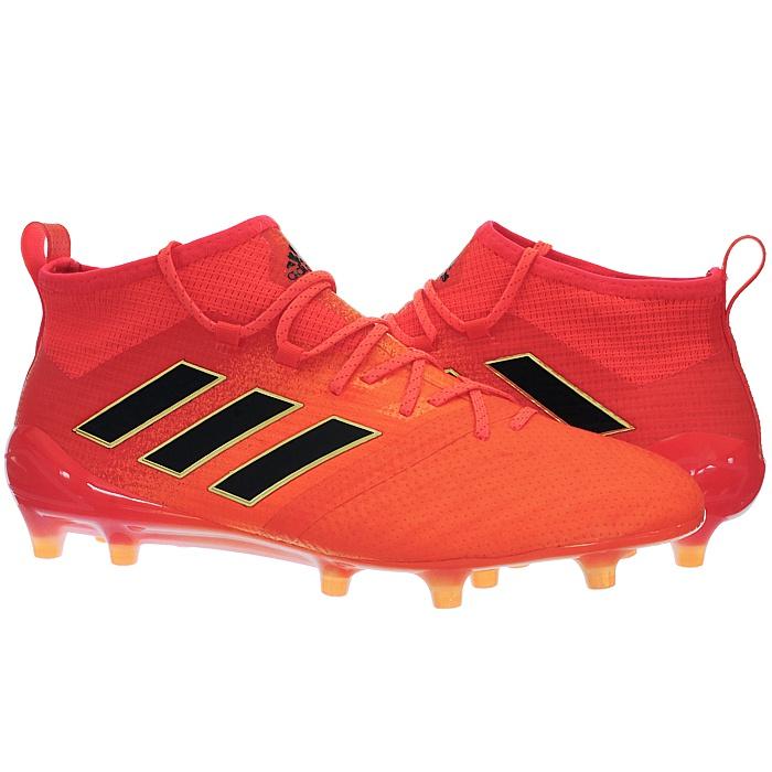 Adidas-Ace-17-1-FG-Nocken-Herren-Profi-Fusballschuhe-orange-weis-turkis-NEU miniatuur 3