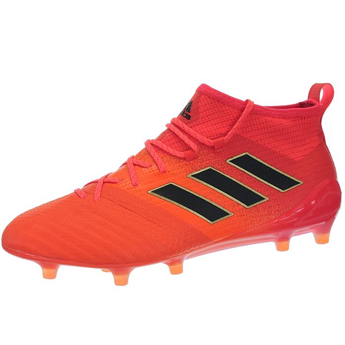 Adidas-Ace-17-1-FG-Nocken-Herren-Profi-Fusballschuhe-orange-weis-turkis-NEU miniatuur 5