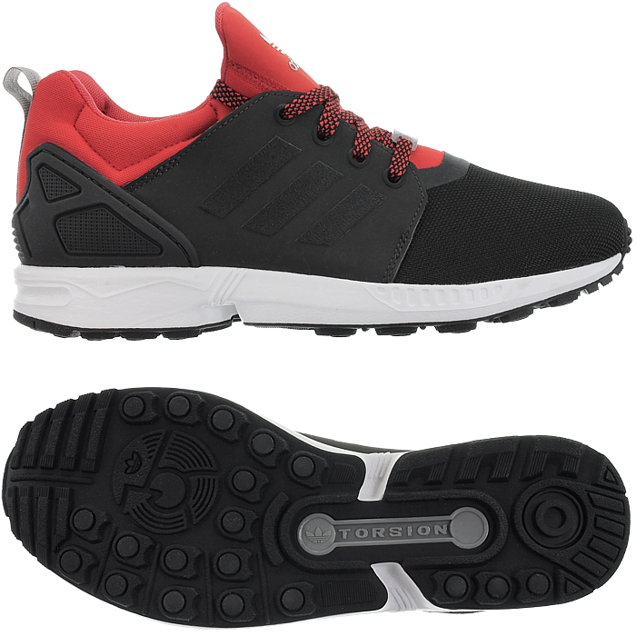 Adidas ZX Flux NPS UPDT black red Men's