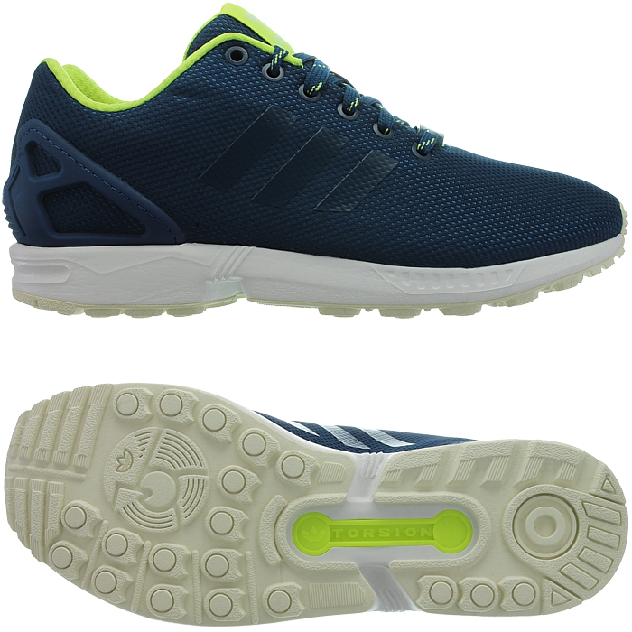 017a98321 adidas Originals ZX Flux Blue Green Men Trinomic Shoes SNEAKERS S79101 8.  About this product. Picture 1 of 5  Picture 2 of 5 ...