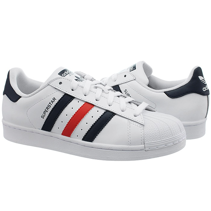 official photos 700fa 6b2c0 Adidas-Superstar-Foundation-men-039-s-sneakers-white-