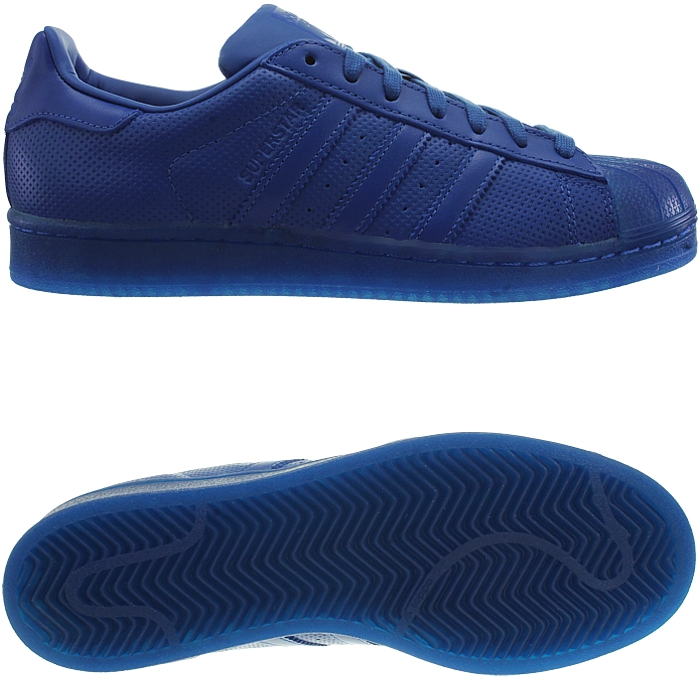 Adidas Superstar Adicolor men 's low-top sneakers red or blue casual shoes NEW