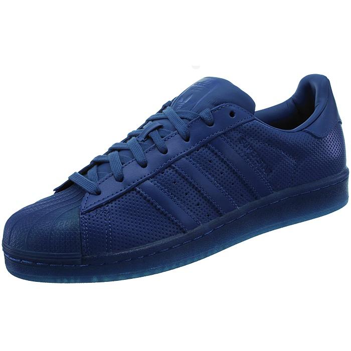 o uomo basse Adicolor casual blu Sneakers Scarpe Superstar Adidas rosse da x4w0AX