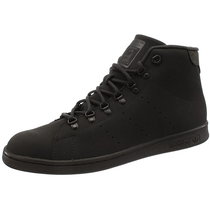 Adidas Stan Smith Winter men's mid-top sneakers black or brown casual shoes NEW