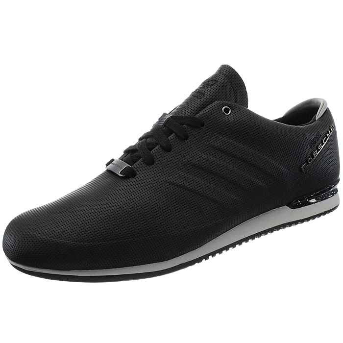 adidas porsche typ 64 sport men 39 s low top sneakers black. Black Bedroom Furniture Sets. Home Design Ideas