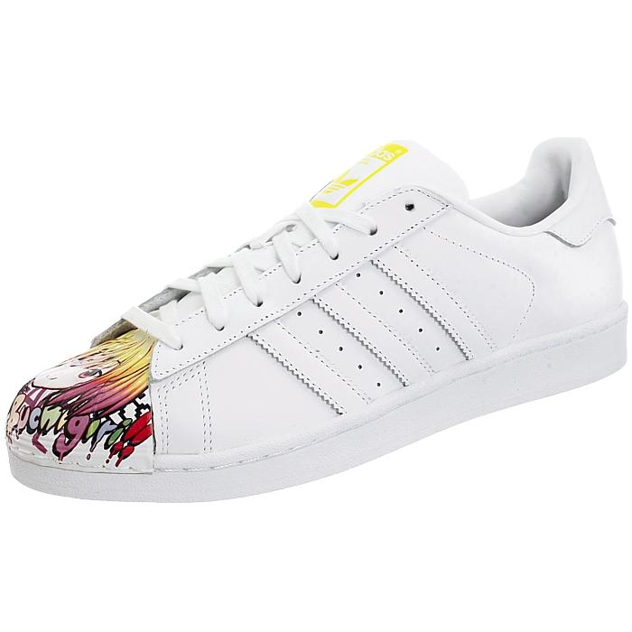 brand new 8c4ce 9f18e Details about Adidas Superstar Pharrell Supershell white men s artwork  design sneakers NEW