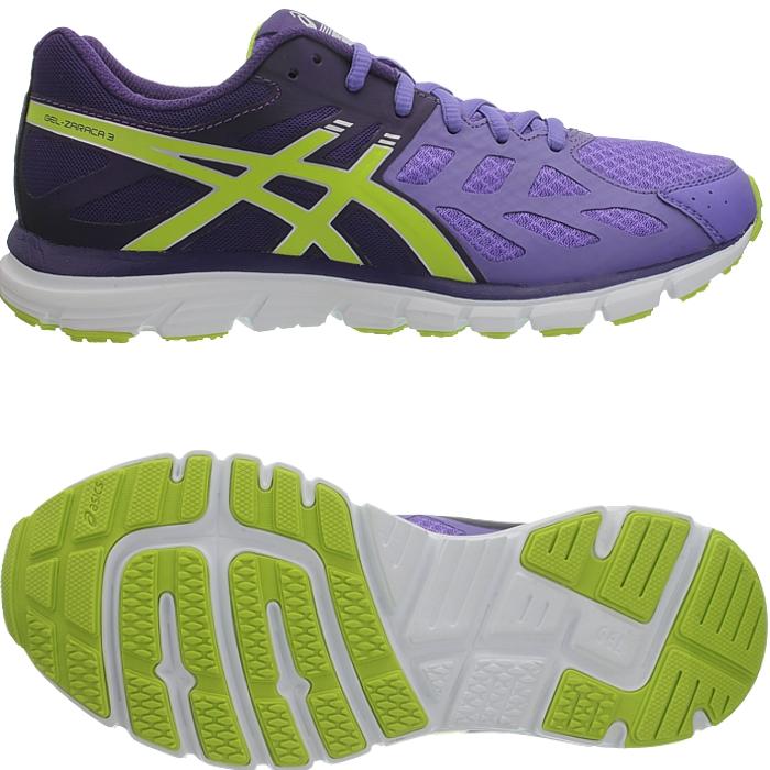 Asics Gel Zaraca 3 Pink oder Blau Damen Laufschuhe mit Gel D mpfung NEU