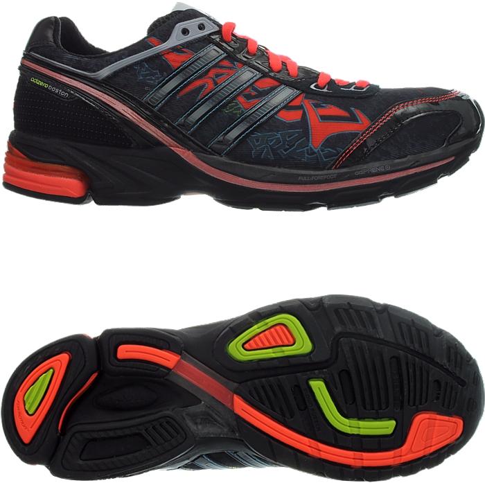 Adidas Adizero Boston 2 Graph men's running shoes black/red ...