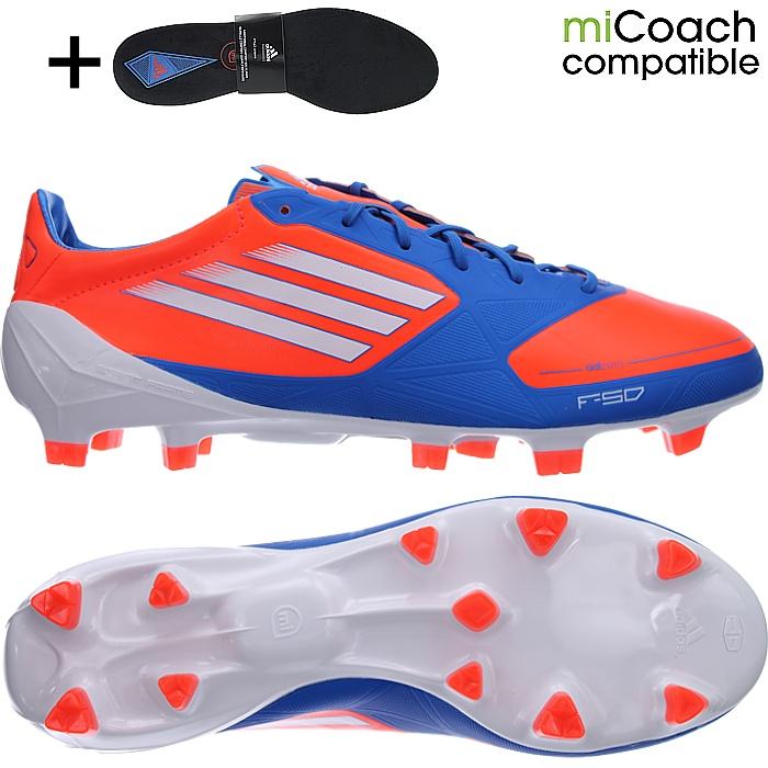 adidas F50 adizero FG Herren Firm Ground Fußballschuh Fußballschuhe Weiß Blu G