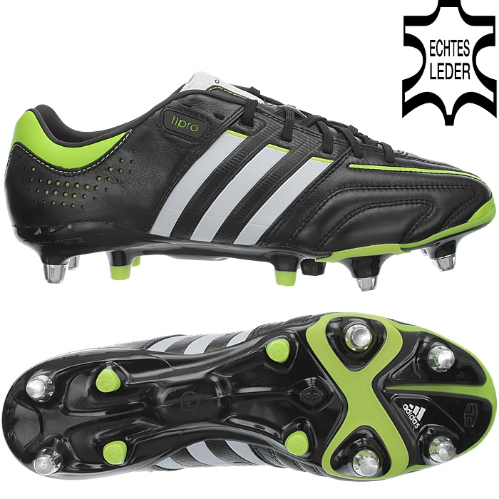 new products efa81 461a5 Details about Adidas adipure 11pro XTRX SG professional men s soccer cleats  black white green