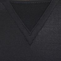 Reebok EASYTONE TAPED schwarz Damen Techfit kurzarm Shirt XS