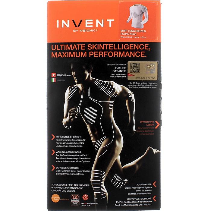 X-Bionic Invent manica lunga funzione SCI SHIRT SCI funzione CICLISMO Biancheria Intima Base Layer NUOVO 5ceb94