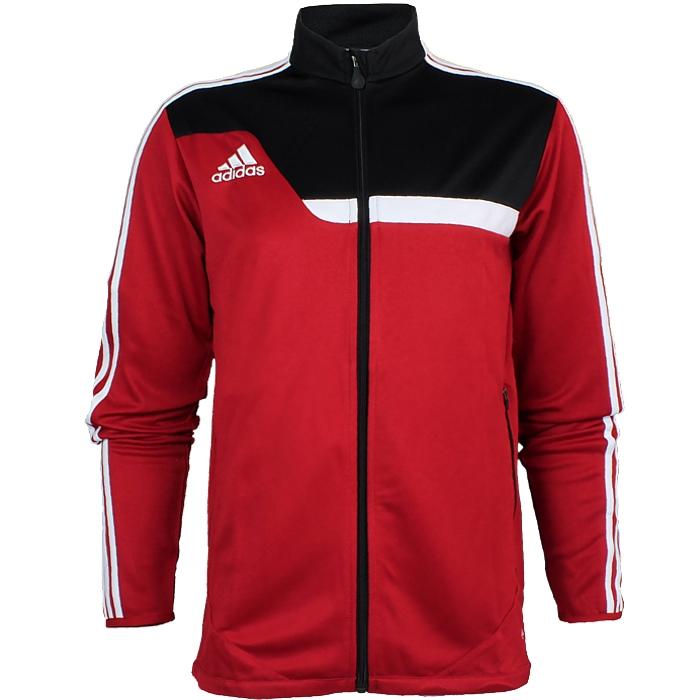 Details zu Adidas Tiro 13 Herren Trainingsjacke rot oder grün Fußball Jogging NEU