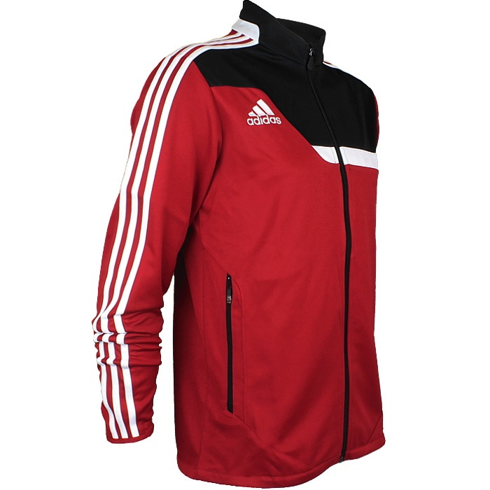 d75d86c05e32 Adidas Tiro 13 men s training jacket red or green fitness jogging ...