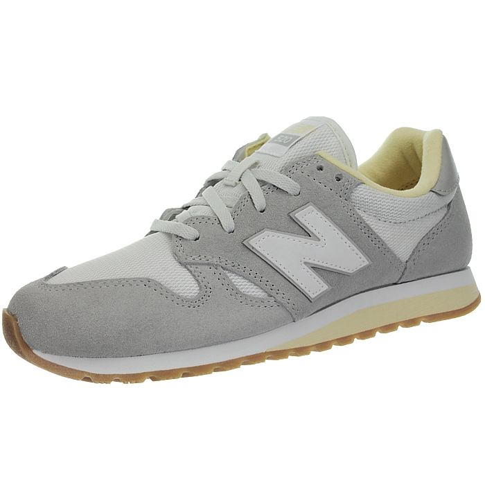 New-Balance-wl520-Rose-Ou-Gris-Femmes-Daim-Low-top-Baskets-Chaussures-NEUF miniature 5