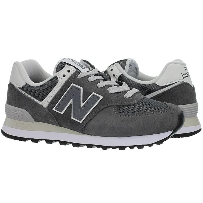 New-Balance-wl574-Femmes-Low-top-Baskets-5-Couleurs-Daim-Chaussures-Loisirs-Neuf miniature 11