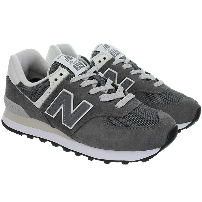 New-Balance-wl574-Femmes-Low-top-Baskets-5-Couleurs-Daim-Chaussures-Loisirs-Neuf miniature 12