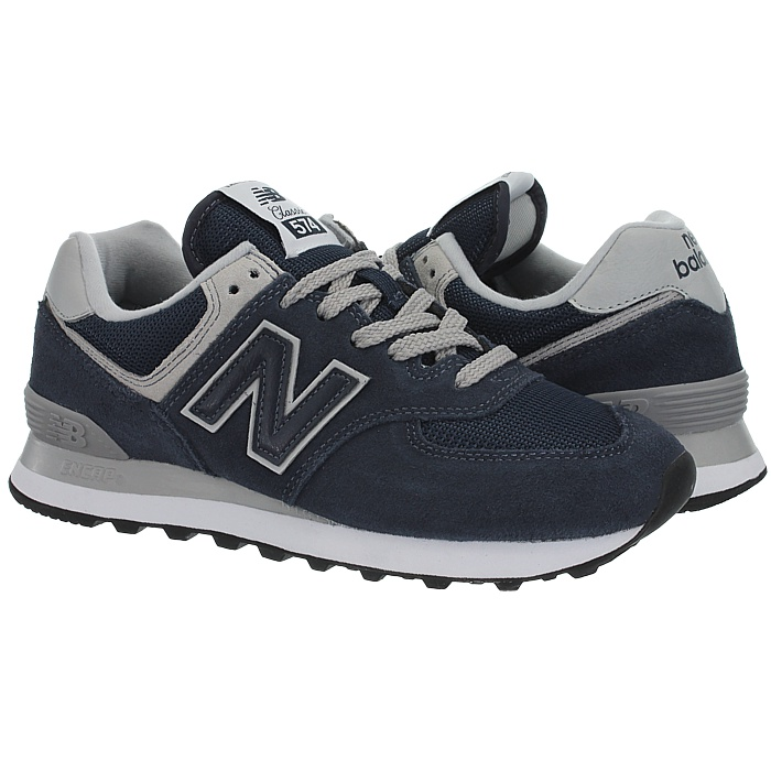 New-Balance-wl574-Femmes-Low-top-Baskets-5-Couleurs-Daim-Chaussures-Loisirs-Neuf miniature 7