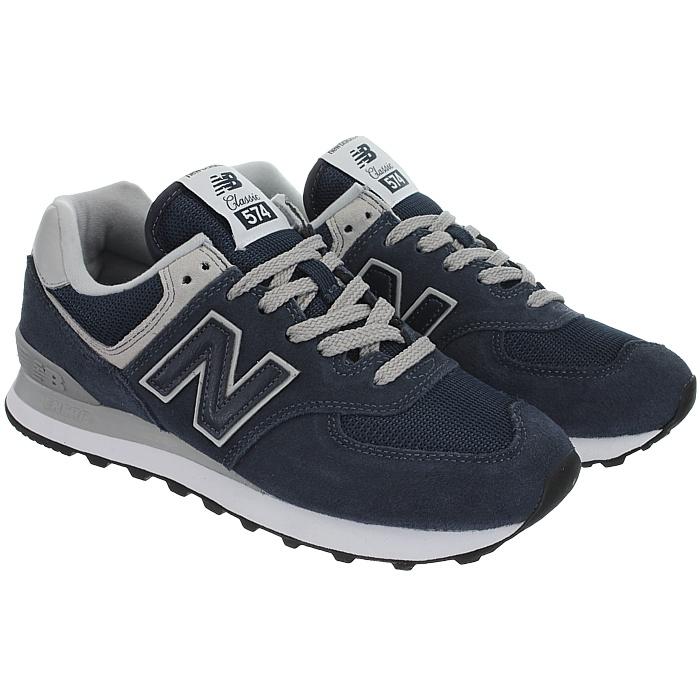 New-Balance-wl574-Femmes-Low-top-Baskets-5-Couleurs-Daim-Chaussures-Loisirs-Neuf miniature 8