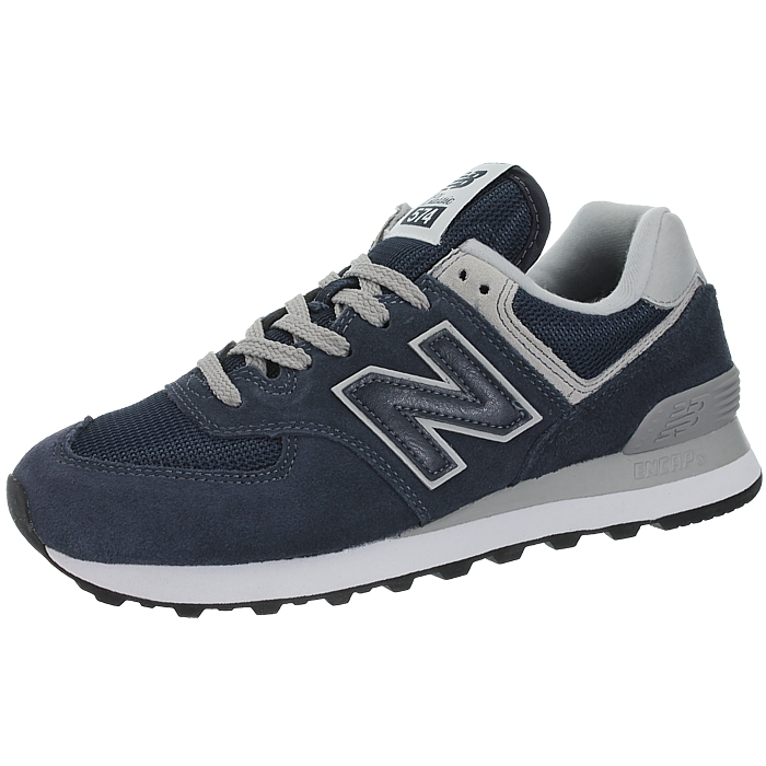 New-Balance-wl574-Femmes-Low-top-Baskets-5-Couleurs-Daim-Chaussures-Loisirs-Neuf miniature 9