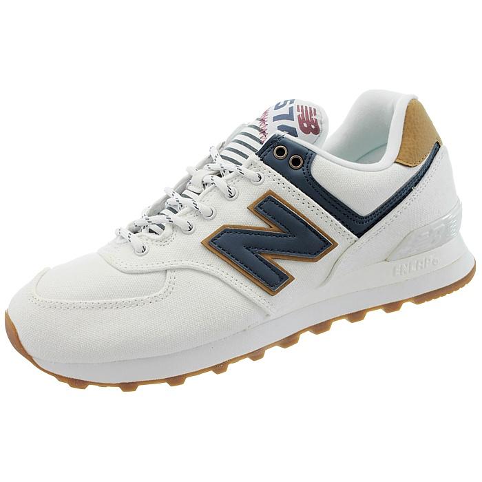 New Balance 574 blau Sea Escape Damen low-top Sneakers weiß blau 574 Freizeitschuhe NEW 6b8b94