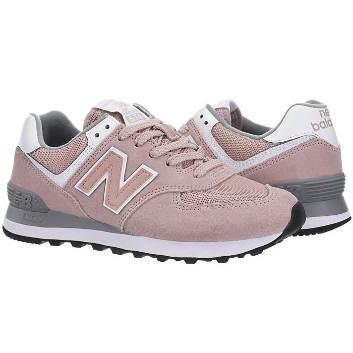 New-Balance-wl574-Femmes-Low-top-Baskets-5-Couleurs-Daim-Chaussures-Loisirs-Neuf miniature 15