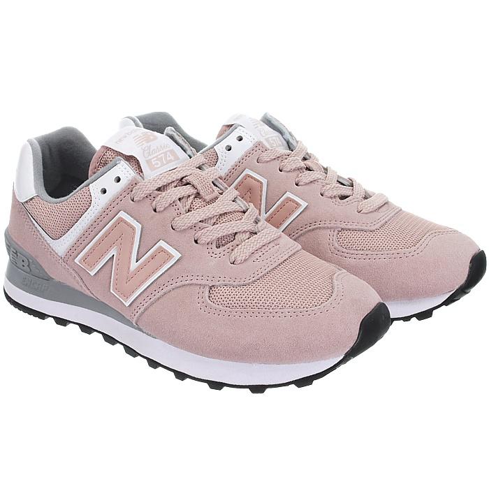 New-Balance-wl574-Femmes-Low-top-Baskets-5-Couleurs-Daim-Chaussures-Loisirs-Neuf miniature 16