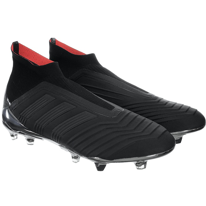 Details about Adidas Predator 18+ FG Black Mens Professional Football Shoes Cam sockfit NEW show original title