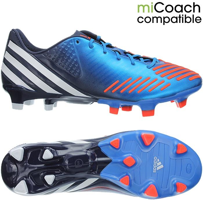 a783fec54504 Details about Adidas Predator LZ TRX FG blue white orange professional  men s soccer cleats NEW