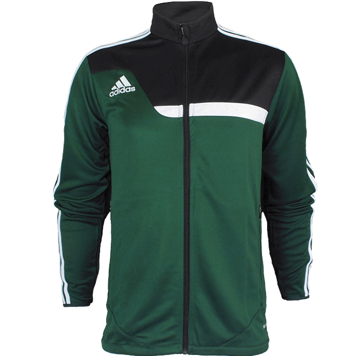 Details about Adidas Tiro 13 men s training jacket red or green fitness  jogging soccer NEW 1ec9ddd07