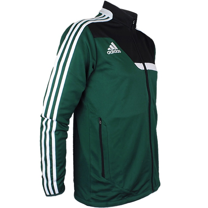 Adidas Tiro 13 men s training jacket red or green fitness jogging ... 9a82121dd