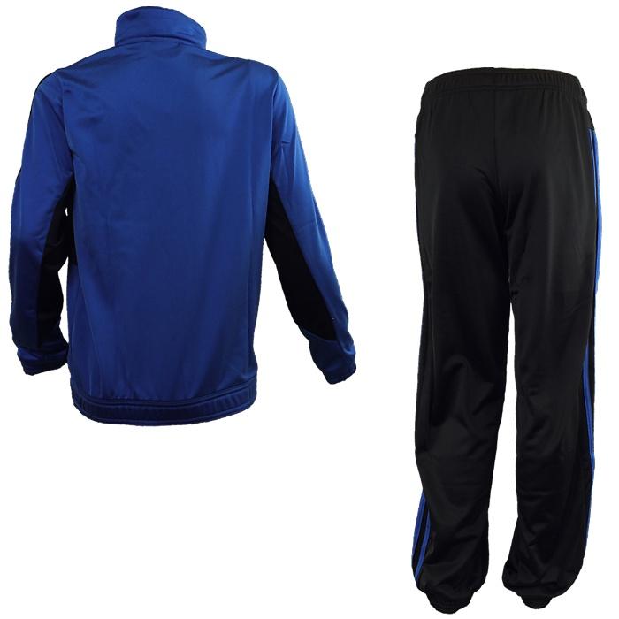 Adidas-YB-TS-Tiberio-Knit-blau-oder-rot-Kinder-Trainingsanzug-Jogginganzug-NEU Indexbild 5