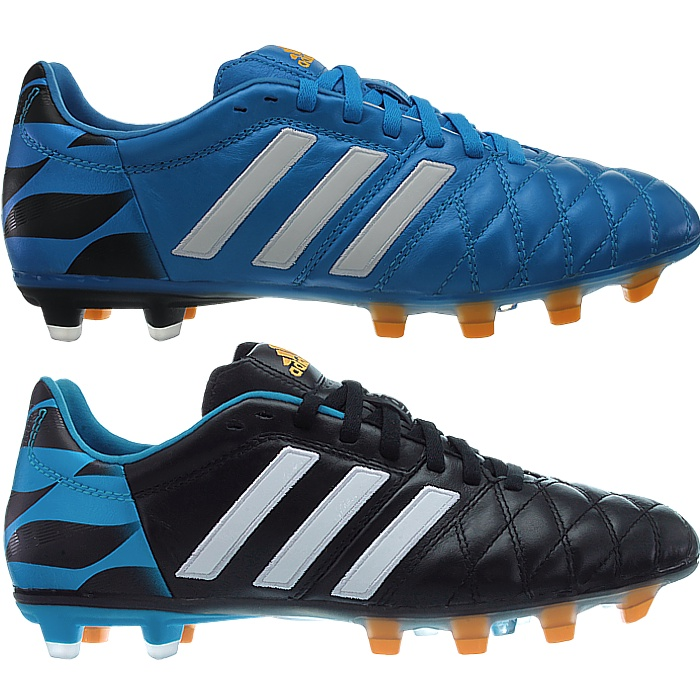 size 40 06f12 b11e2 Adidas 11pro FG Profi soccer cleats for men blue or black smooth ...