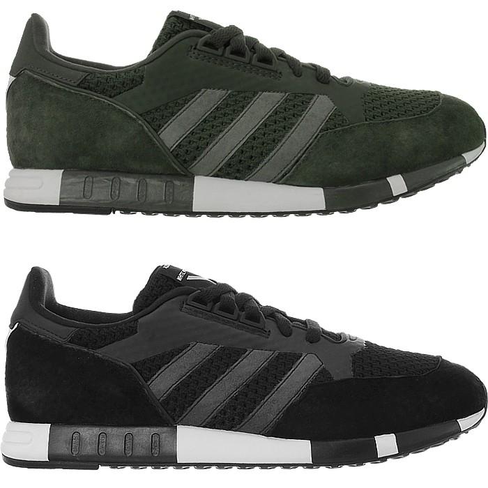 Details zu Adidas WM Boston Super PrimeKit Herren low top Sneaker grün schwarz Wildleder