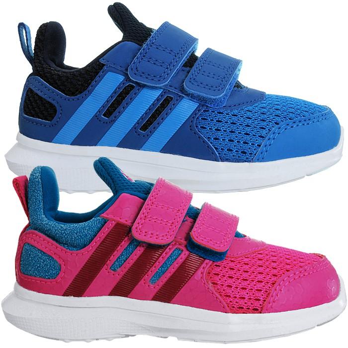 Details zu Adidas Hyperfast 2.0 CF low top Kinderschuhe blau pink Sneakers Running NEU