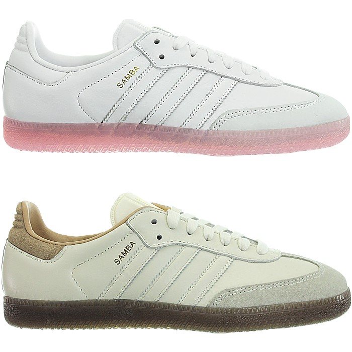 Inspired by the legendary Samba football boot he takes its classical  details and combines them with street style. This sneaker for women scores  with its toe ... 00776f6df