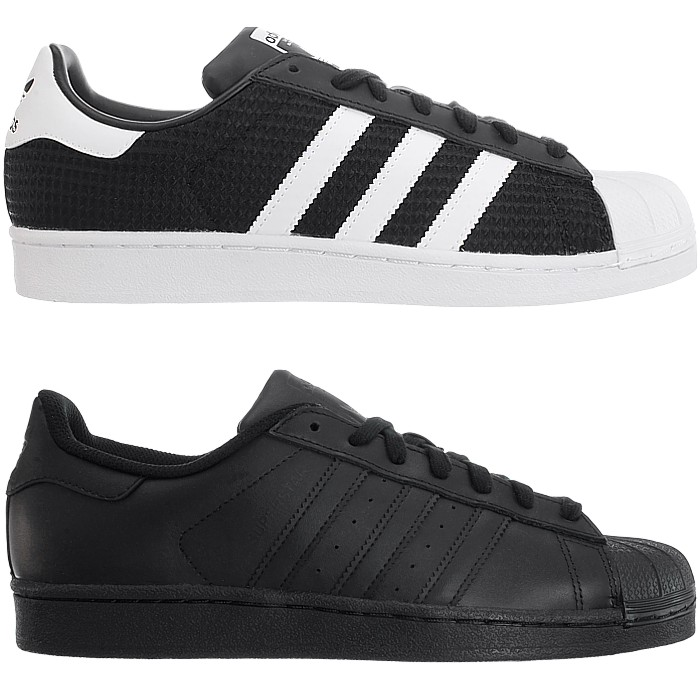 Shoes Details Adidas Sneakers Top Casual Textileleather About New Men's Low Superstar jLq4AR35