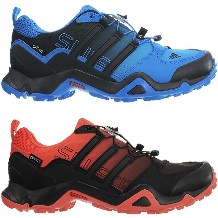 47da9115b75 Details about Adidas Terrex Swift R GTX men s trekking boots blue orange hiking  outdoor NEW