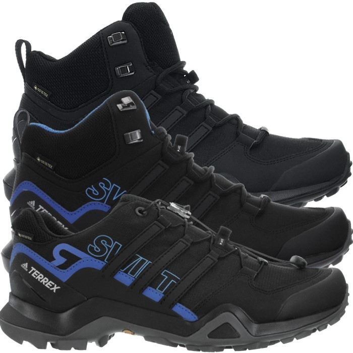 Details about Adidas Terrex Swift R2 Mid GTX black Men's Goretex Hiking Boots Shoes Gore Tex