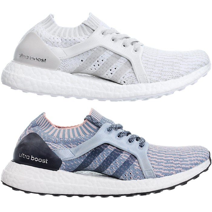 Details about Adidas Ultraboost X W Women's Premium Running Shoes Jogging Fitness white blue