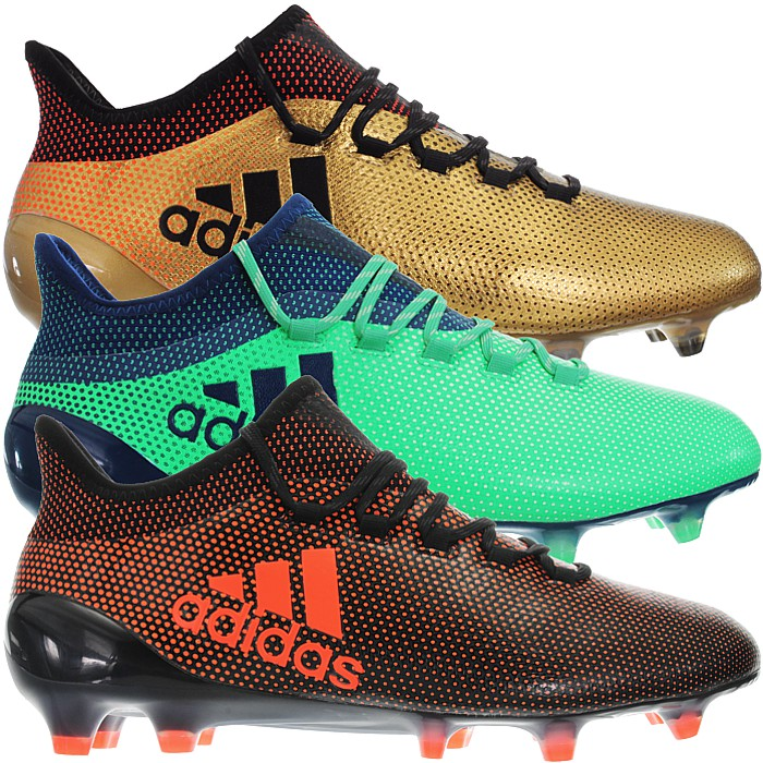 timeless design d506a 73e98 Details about Adidas X17.1 FG gold or green Men's Professional Soccer Boots  FirmGround NEW